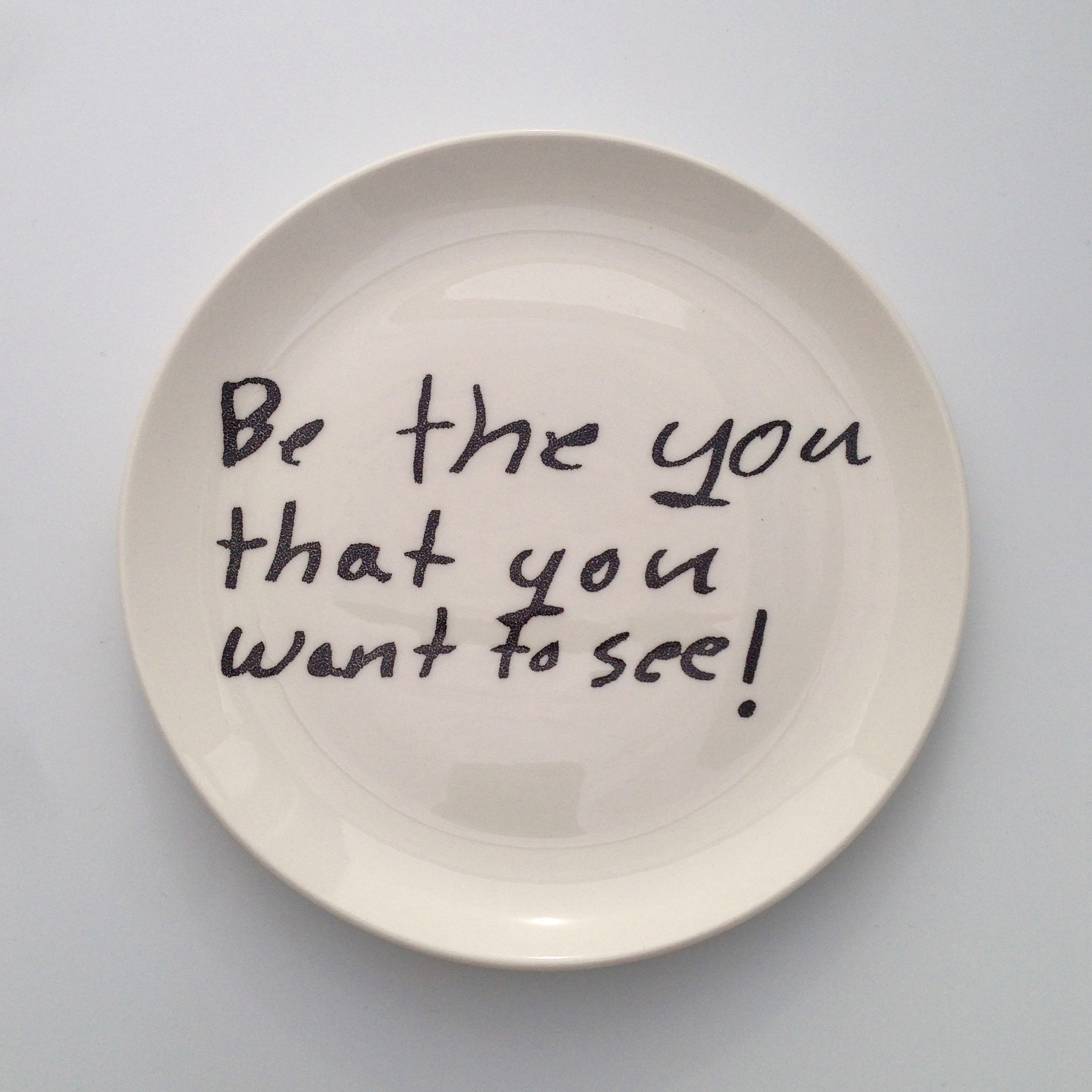 Be the you that you want to see!