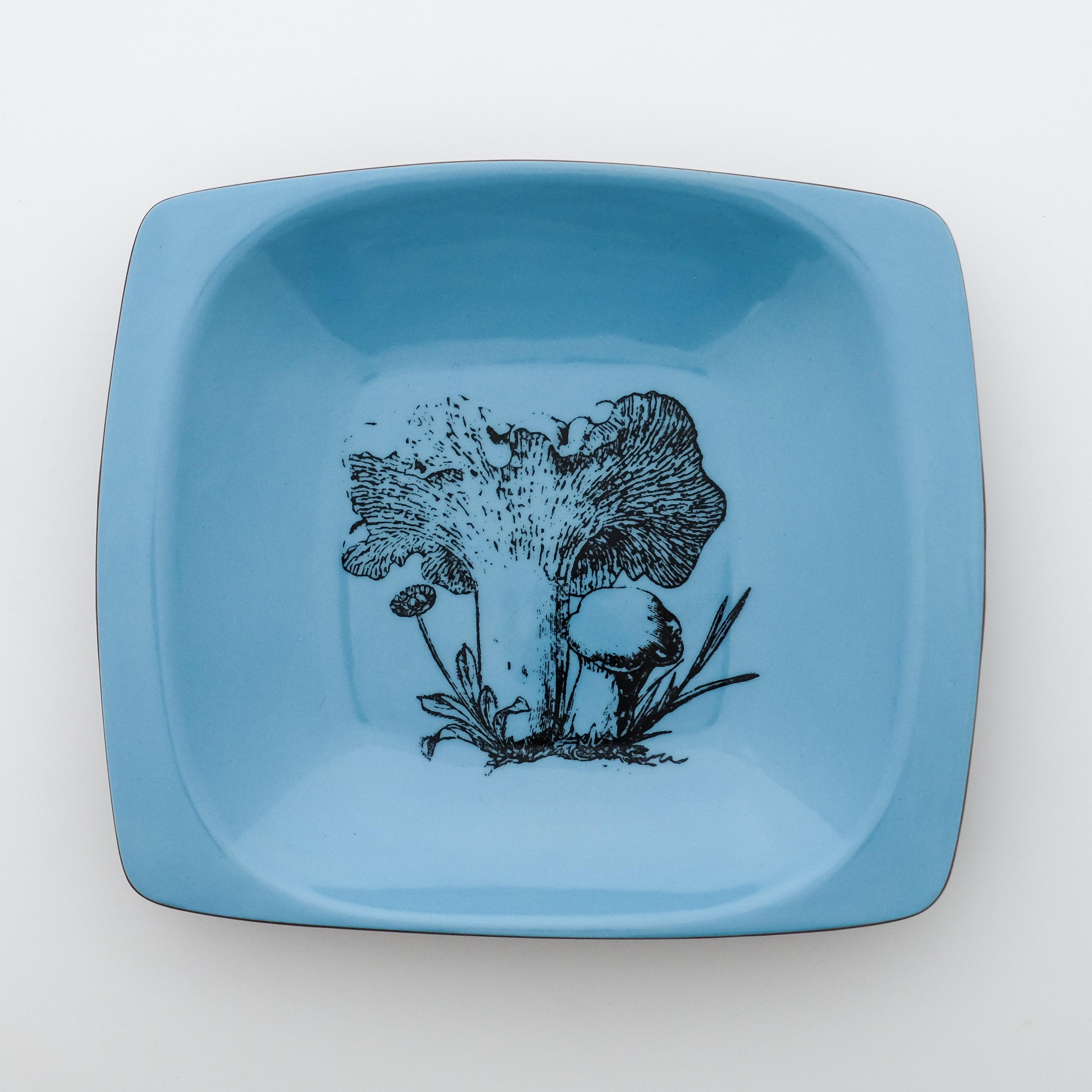 mushroom square dish